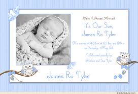 baby announcement wording announcing birth of baby boy wording owl boy announcement