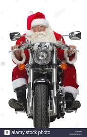 santa claus motorcycle stock photos u0026 santa claus motorcycle stock