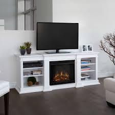 electric fireplace idea under television modern fireplace design