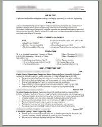 resume template sample of it project manager