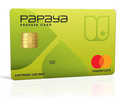 online prepaid card papaya pay online money transfer papaya prepaid card mastercard