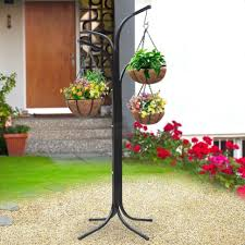 Patio Hanging Lights by Plant Stand Patio Hanging Plant Standshanging Stand For