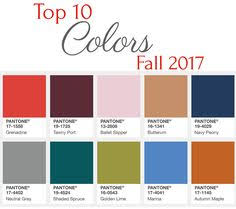 Home Colors 2017 by Pantone Fall 2017 Color Trends Report Erika Firm Pretty Color