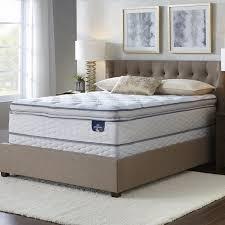 serta westview super pillow top queen size mattress set free
