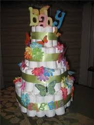 see the cutest butterfly diaper cakes and decoration ideas