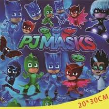 pj masks party favor stickers 100 ct products
