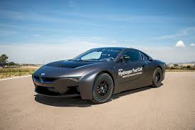 cars bmw i8 hydrogen to hit the highway new bmw i8 fuel cell unveiled by car
