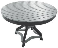 buck stove patio furniture outdoor furniture 48 inch round table