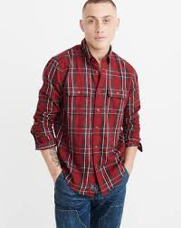 mens shirts abercrombie fitch