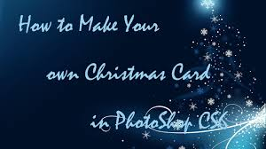 how to make a christmas card with photoshop cs6 in win7 youtube