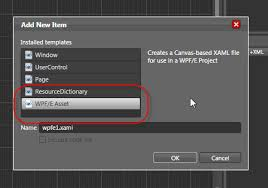 Blend Templates wpf e item template for expression blend shawn wildermuth