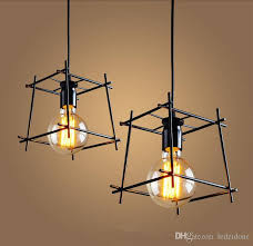 wire pendant light fixtures new design iron wire pendant ls vintage northern europe industry
