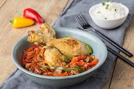 cuisine poulet basquaise poulet basquaise cookeo