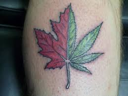 a pot leaf tattoo design in 2017 real photo pictures images and