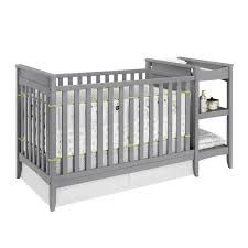 Changing Table Crib Combo Baby Relax Gray 2 In 1 Crib Changing Table Combo Beehive Baby