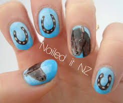 horse nail art tutorial horse nails part two youtube