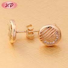 modern gold stud earrings cheap brand modern gold stud earrings for buy gold