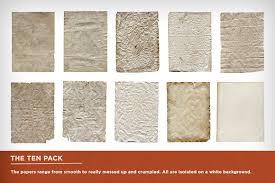 10 retro paper pack textures creative market