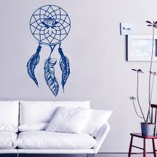 popular unique wall murals buy cheap unique wall murals lots from new arrived art special wall stickers dream catcher pattern cool wall murals home amulet unique american