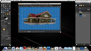 make a blueprint how to make a blueprint effect in gimp youtube