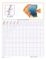 cursive small letter f practice worksheet download free cursive