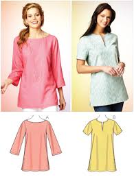 blouse sewing patterns kwik sew 3870 misses tunic