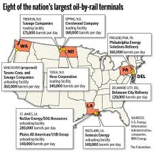 Vancouver Washington Map by Proposed Oil Terminal Would Be Biggest In Volume The Columbian