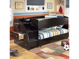 signature design by embrace twin loft bed with caster bed