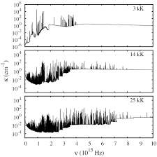 radiation transfer in air and air cu plasmas for two temperature