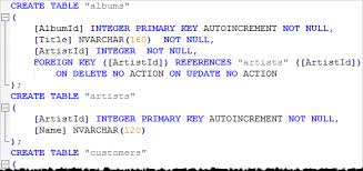sql create table primary key autoincrement how to use the sqlite dump command