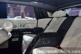 rolls royce ghost rear interior 2015 rolls royce phantom limelight collection interior at the auto