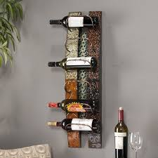 wall mounted wine rack contemporary wall mounted wine racks