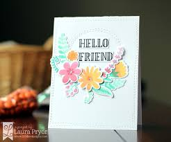 fresh cut flowers fresh cut flower dies for adding floral designs to your paper