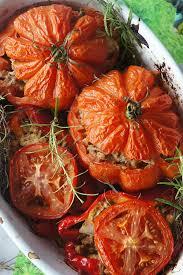 cuisiner coeur de boeuf tomates coeur de boeuf farcies à la moutarde et au romarin