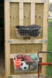 Ball Organizer Garage - shed storage archives organize with sandy organize with sandy
