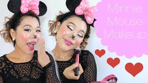 mouse makeup halloween minnie mouse makeup halloween 2016 iamhopep youtube