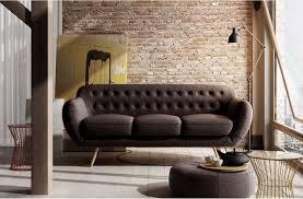 canapé qualité canapé 3 places en tissu de qualité indora chocolat mobilier privé