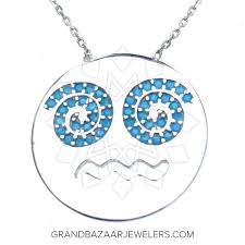necklace silver online images Customize buy emoji 925 sterling silver necklace online at grand jpg