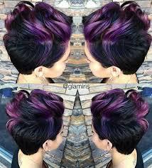 best highlights for pixie dark brown hair highlighted pixie hair pinteres