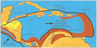 south america map belize holocene sediments of the belize shelf belize history