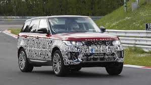 mitsubishi land rover land rover range rover sport spied with refreshed face
