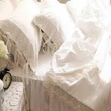 White Ruffle Bed Skirt White Ruffled Bed Skirt King Bedding Bed Linen