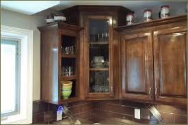 Standard Height Of Upper Kitchen Cabinets by New Small Upper Kitchen Cabinets With Glass Doors Kitchenzo Com