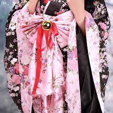 Sakura Halloween Costume Wholesale Gorgeous Black Sakura Pattern Silk Deluxe Wa