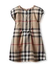 burberry check print sleeveless dress baby girls available at