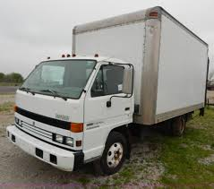 1995 isuzu npr electromatic box truck item g3170 sold m