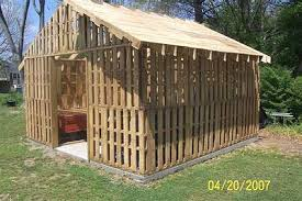 Free Wood Shed Plans Materials List by Pallet Shed Plans How To Build Diy By 8x10x12x14x16x18x20x22x24