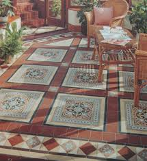period style flooring tile