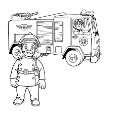 fireman sam coloring pages 27 coloring pages for kids