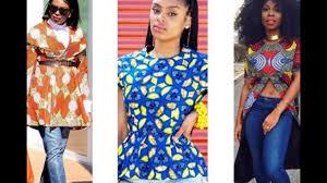 latest ankara in nigeria 60 latest nigerian ankara styles for ladies top and jeans designs